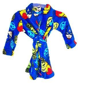 Avengers bathrobe kids